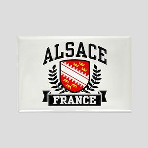 Alsace France Rectangle Magnet