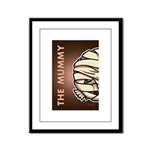 The Mummy Framed Panel Print