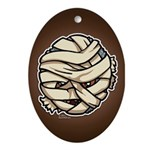 The Mummy Ornament (Oval)