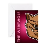 The Werewolf (Brown) Greeting Card