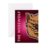 The Werewolf (Brown) Greeting Cards (Pk of 10)