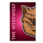 The Werewolf (Brown) Postcards (Package of 8)