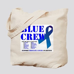 Blue Crew Tote Bag