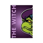 The Witch Rectangle Magnet (100 pack)