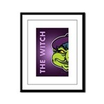 The Witch Framed Panel Print
