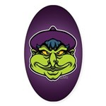 The Witch Sticker (Oval)