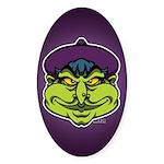 The Witch Sticker (Oval 50 pk)