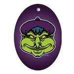 The Witch Ornament (Oval)
