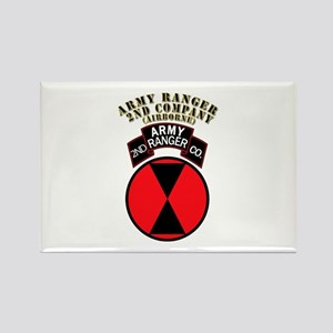 SOF - Army Ranger - 2nd Company Rectangle Magnet