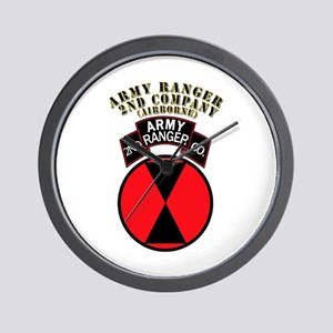 SOF - Army Ranger - 2nd Company Wall Clock