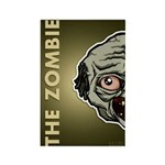 The Zombie Rectangle Magnet