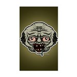 The Zombie Sticker (Rectangle)