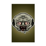 The Zombie Sticker (Rectangle 50 pk)
