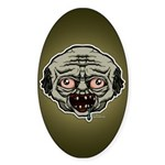 The Zombie Sticker (Oval)