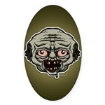 The Zombie Sticker (Oval 50 pk)