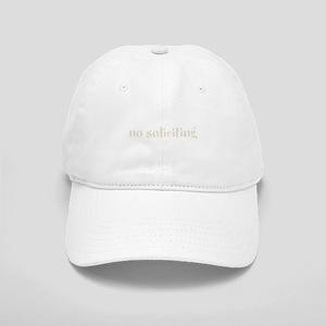 No Soliciting Cap