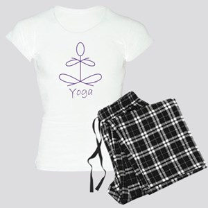 Yoga in Purple Women's Light Pajamas