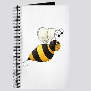 Whimsical Bumble Bee Journal