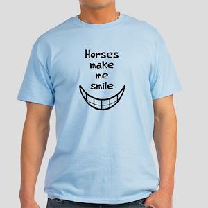 Horses Smile Light T-Shirt
