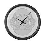 SCUBA Diver Large Wall Clock