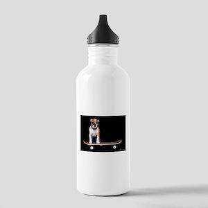 Skateboard Bulldog Stainless Water Bottle 1.0L