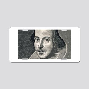 Wm Shakespeare Aluminum License Plate