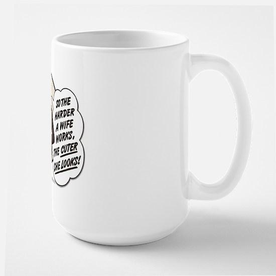 Hard Worker... Large Mug