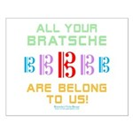 All Your Bratsche are Belong to Us Small Poster