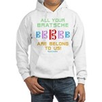 All Your Bratsche are Belong to Us Hooded Sweatshi