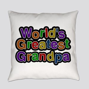 World's Greatest Grandpa Everyday Pillow