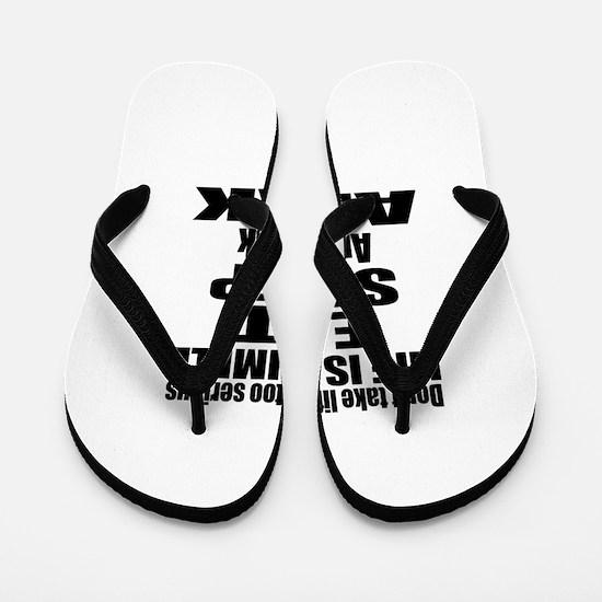 Eat Sleep And Arak Flip Flops