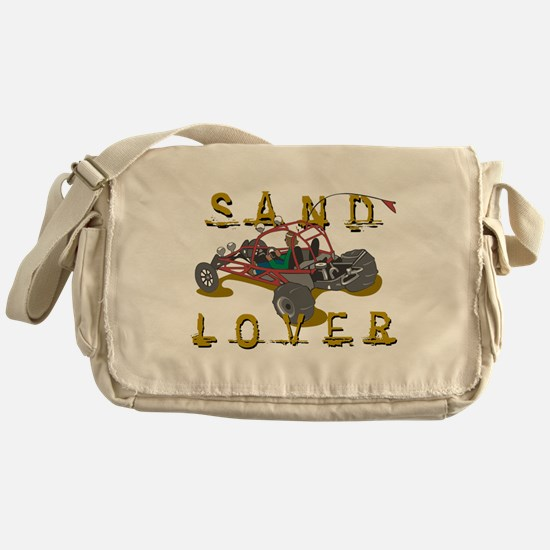 Sand Lover Dune Buggy Messenger Bag