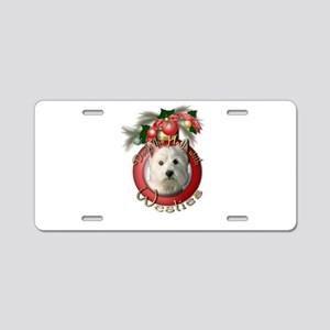Christmas - Deck the Halls - Westies Aluminum Lice