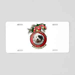 Christmas - Deck the Halls - Tibetans Aluminum Lic