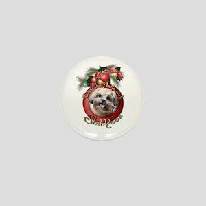 Christmas - Deck the Halls - ShihPoos Mini Button