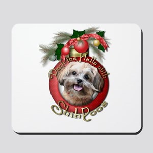 Christmas - Deck the Halls - ShihPoos Mousepad