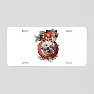 Christmas - Deck the Halls - ShihPoos Aluminum Lic
