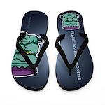 Frankenstein's Monster Flip Flops