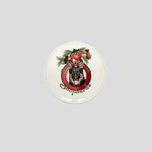 Christmas - Deck the Halls - Shepherds Mini Button