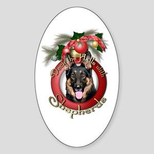 Christmas - Deck the Halls - Shepherds Sticker (Ov