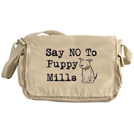 No Puppy Mills Messenger Bag