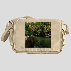 Paradise River Messenger Bag