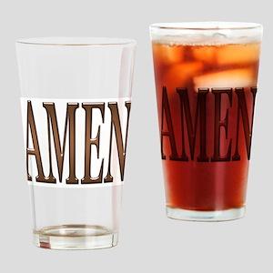 Amen Drinking Glass