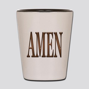Amen Shot Glass