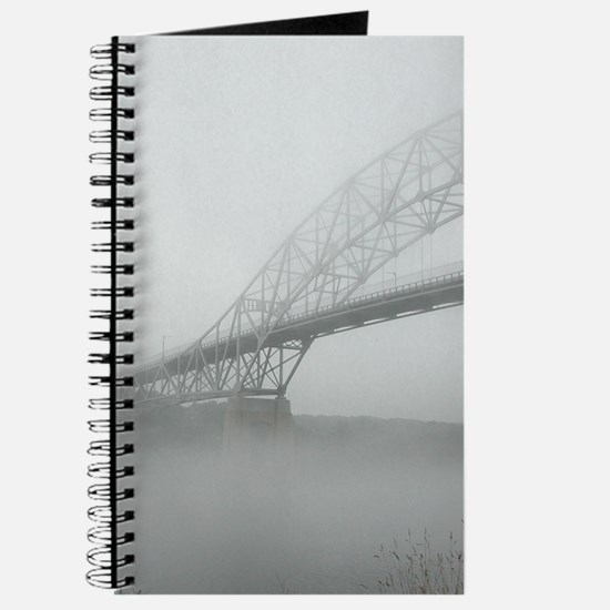 Cape Cod Canal in Fog Journal