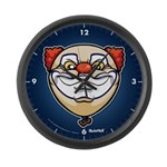 The Clown Large Wall Clock