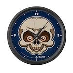 The Skull Large Wall Clock