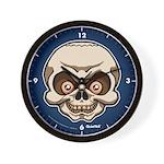The Skull Wall Clock