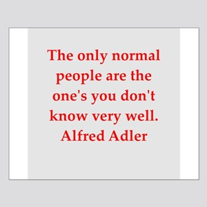 Alfred Adler quotes Small Poster