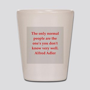 Alfred Adler quotes Shot Glass